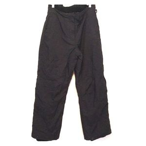 Black ski pants